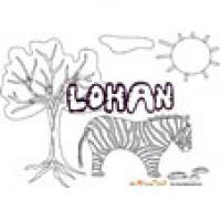 Lohan, coloriages Lohan