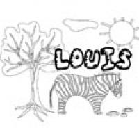 Louis, coloriages Louis