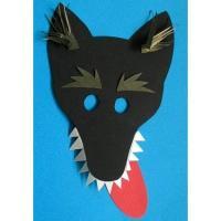 Masque de loup pour les enfants