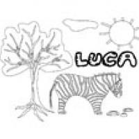 Luca, coloriages Luca