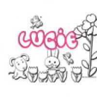Lucie, coloriages Lucie