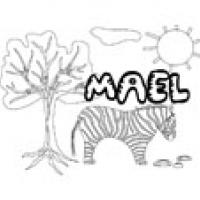 Mael, coloriages Mael