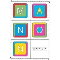 """Jeux et activités des prénoms à la lettre """"M"""""""