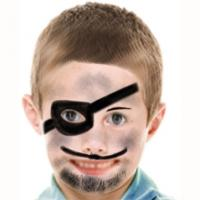 Maquillage de pirate