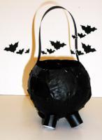 Fabriquer une marmite visqueuse d'halloween
