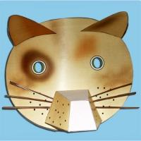 Masque de chat 3D