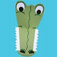Realisation du masque crocodile