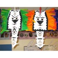 Masque de sorcier du Mali