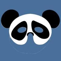 Masque de panda