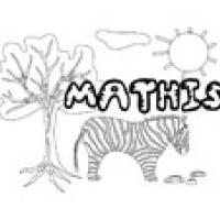 Mathis, coloriage Mathis