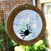 Mobile toile d'araignée