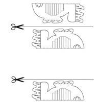 Modèles de Kirigami à imprimer