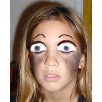 Maquillage zombie Halloween