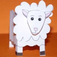 Paper toy animaux de la ferme