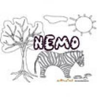 Nemo, coloriages Nemo