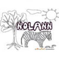 Nolann, coloriages Nolann
