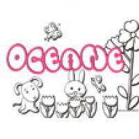 Oceane, coloriages Oceane