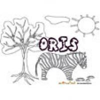 Oris, coloriages Oris