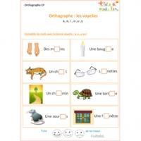 Orthographe : exercices de soutien scolaire