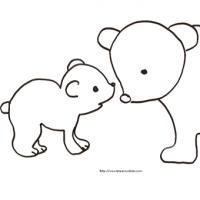 maman ourse et son ourson
