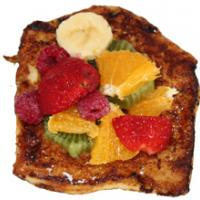 Pain perdu aux fruits