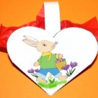 Instructions pour realiser une pochette coeur à bonbons