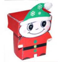 Paper toy lutin de Noël