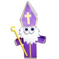 saint Nicolas en paper toy