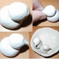 Cette recette de pâte à sel permet de laisser libre court à l'imagination de l'enfant et de développer sa dext&e...
