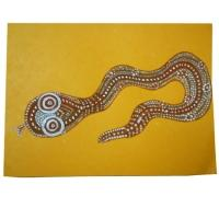 peinture de serpent