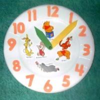 Bricolage : fabrication d'une pendule pour apprendre l'heure
