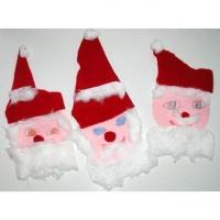 Petites tête de père Noël