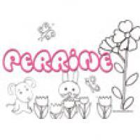 Perrine, coloriages Perrine
