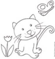 Coloriage de chats pour les enfants