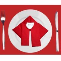 Exceptionnel La Serviette Devient Décoration De Table