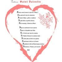Poésie acrostiche Saint Valentin
