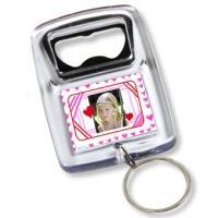 Porte-clés décapsuleur personnalisable en cadeau