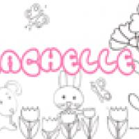 Rachelle, coloriages Rachelle
