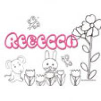 Rebecca, coloriages Rebecca