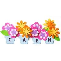 Etiquette Pot fleur 1