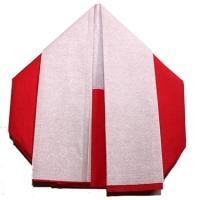 Père Noël ? pliage de serviette