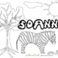 Soann, coloriages Soann
