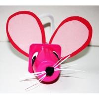 Une idée de recyclage permettant de fabriquer une petite souris pour jouer !