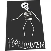 Squelette allumettes