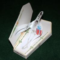 Paper toy squelette d'Halloween