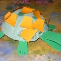 Transformer un emballage de hamburger en tortue