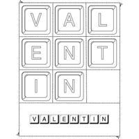 """Activités pour jouer avec les prénoms à la lettre """"V"""""""