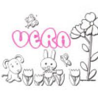 Vera, coloriages Vera