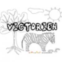 Victorien, coloriages Victorien