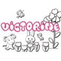 Victorine, coloriages Victorine